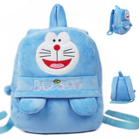 35 27cm Cute Children Peluche Backpacks Cartoon Doraemon Plush Kids School Toy Bag Gifts For Girls