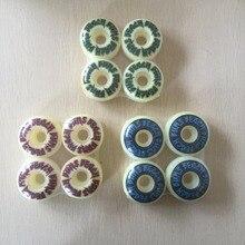 2016 52mm 56mm Mixed 4pcs Set Pro Skateboard Wheels USA skateboard Wheels color changed Ruedas Patines