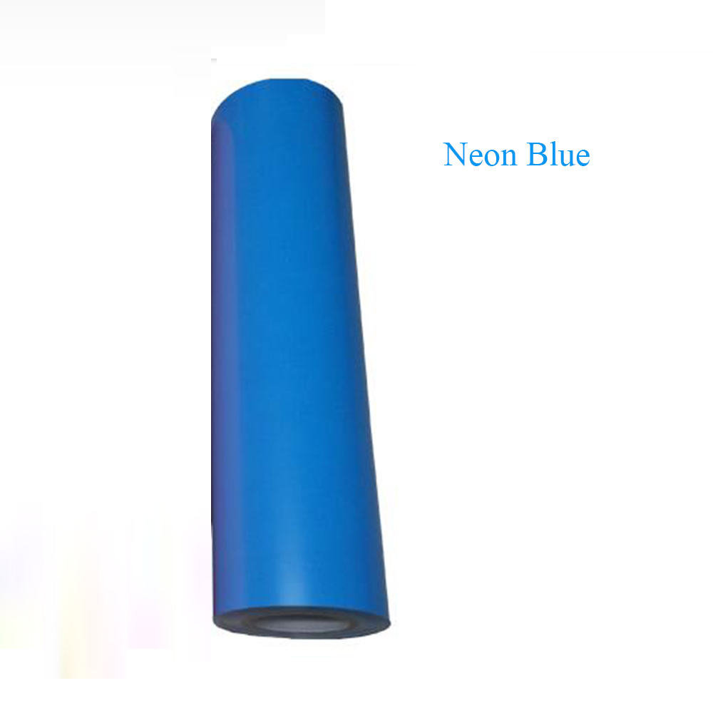 Люминесцентная Неон ПВХ передачи тепла винил пленка оттенок пяти цветов передачи тепла бумага 50см x300cm
