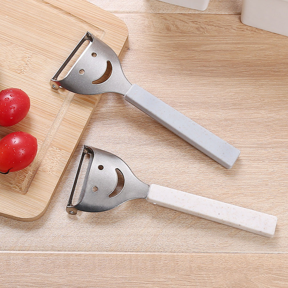 4 x Stainless Steel Vegetable Potato Peeler Kitchen Cutlery Fruit Spud Speed