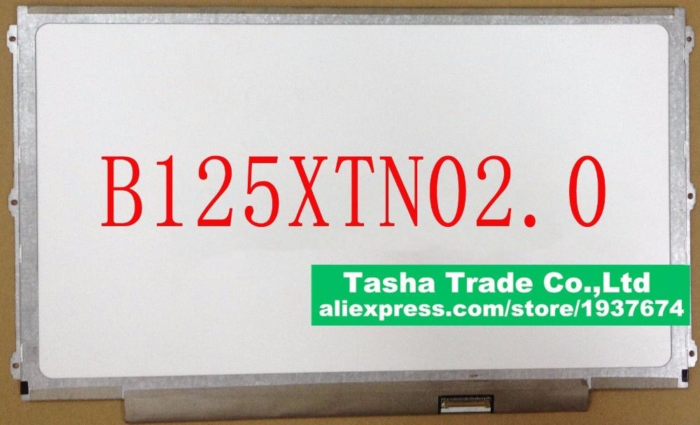 For HP Elitebook 820 G2 B125XTN02.0 B125XTN02 0 eDP HD 30 pin LED LCD Screen Display Panel Matrix 1366*768 original new laptop led lcd screen panel touch display matrix for hp 813961 001 15 6 inch hd b156xtk01 v 0 b156xtk01 0 1366 768