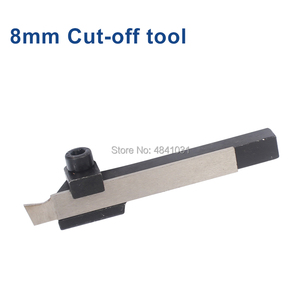 Image 2 - 8mm & 10mm Parting Off Tool Holder with Parting Blade SIEG S / N: 10145 Cut off tool and cutting blade