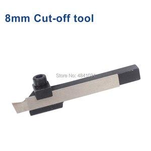 Image 2 - 8mm & 10mm פרידה כלי מחזיק עם פרידה להב SIEG S/N: 10145 כלי חתוך וחיתוך להב