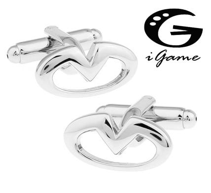 Free Shipping Men Cufflinks Fashion Car Logo Design Quality Brass Material