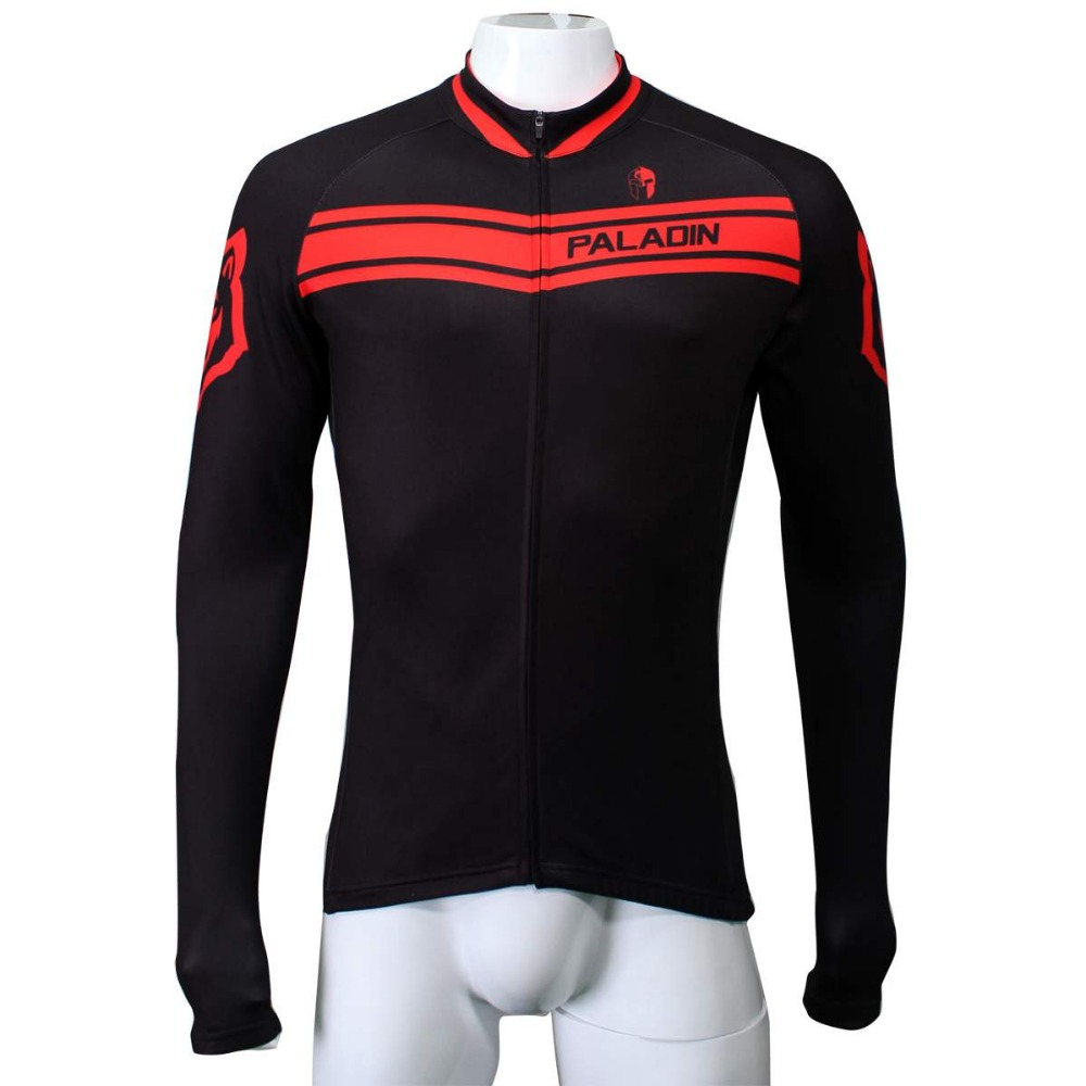 Newest!!! 17 Hot cycling jerseys Men Outdoor Sports Cycling Clothing Bike Bicycle Long Sleeve Cycling Jersey Top red/black/blue/