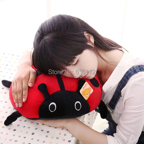 VERY KAWAII CUTE SALE 40cm Funny Insect Red Ladybug Plush Soft Toy Kids Girl Boy Girlfriend Birthday Gift Children Souvenir - Bunny's Sweet Store store