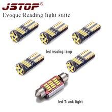JSTOP 6piece set led reading lights 4014smd c5w led Trunk bulbs 12V 36mm c5w festoon led