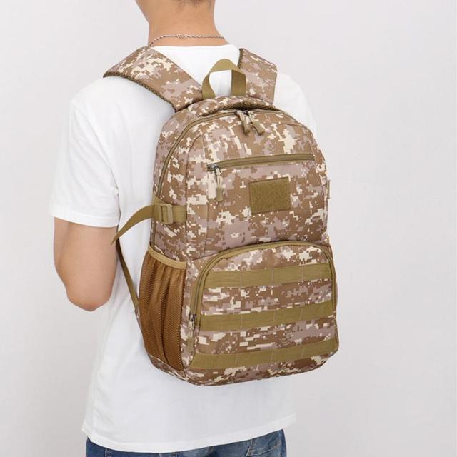 Outdoor Tactical Backpack Hiking Camping Bag