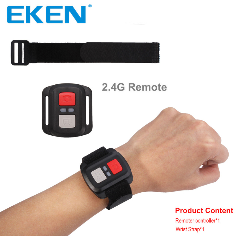 Original EKEN Remote Controller Waterproof Wireless Wifi Remote for EKEN H9 H9R H8R H5S plus H6S H7s with Original Wrist Strap