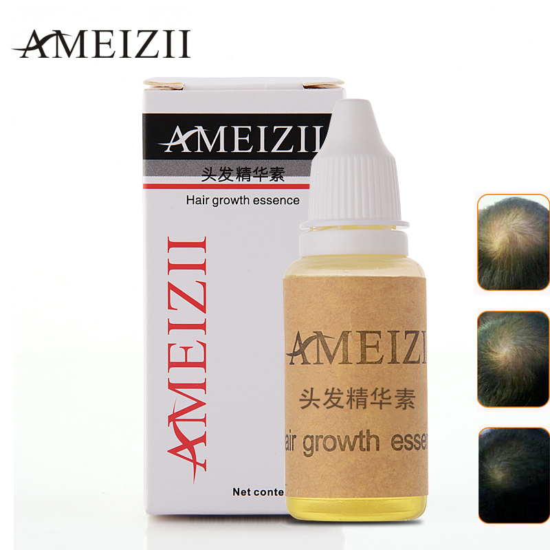 AIMEIZI Crescimento Do Cabelo da Perda de Cabelo Essência Líquida 20 ml danos tratamento reparar o cabelo Denso Cabelo Crescer Rápido Restauração Pilatory Gengibre