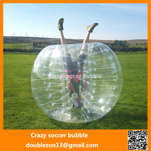 Lowest price ! ! soccer bubble/bubble soccer, free shipping