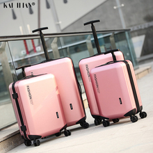 Carry-On Suitcase Trolley Luggage Travel Fashion 18/20inch Wheels-24'' Women Hot PC