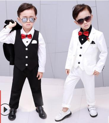 2018 New Children Suit Baby Boys Suits Kids Blazer Boys Formal Suit For Wedding Boys Clothes