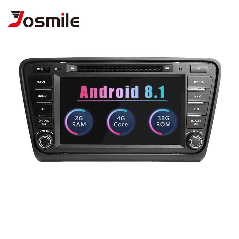AutoRadio 2 din Android 8 1 Car DVD Player For Skoda Rapid Skoda Octavia A7 Fabia