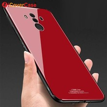 ФОТО phone case for huawei mate 10 lite cases tempered glass cover luxury silicone plating case for huawei mate 10 pro glossy cases