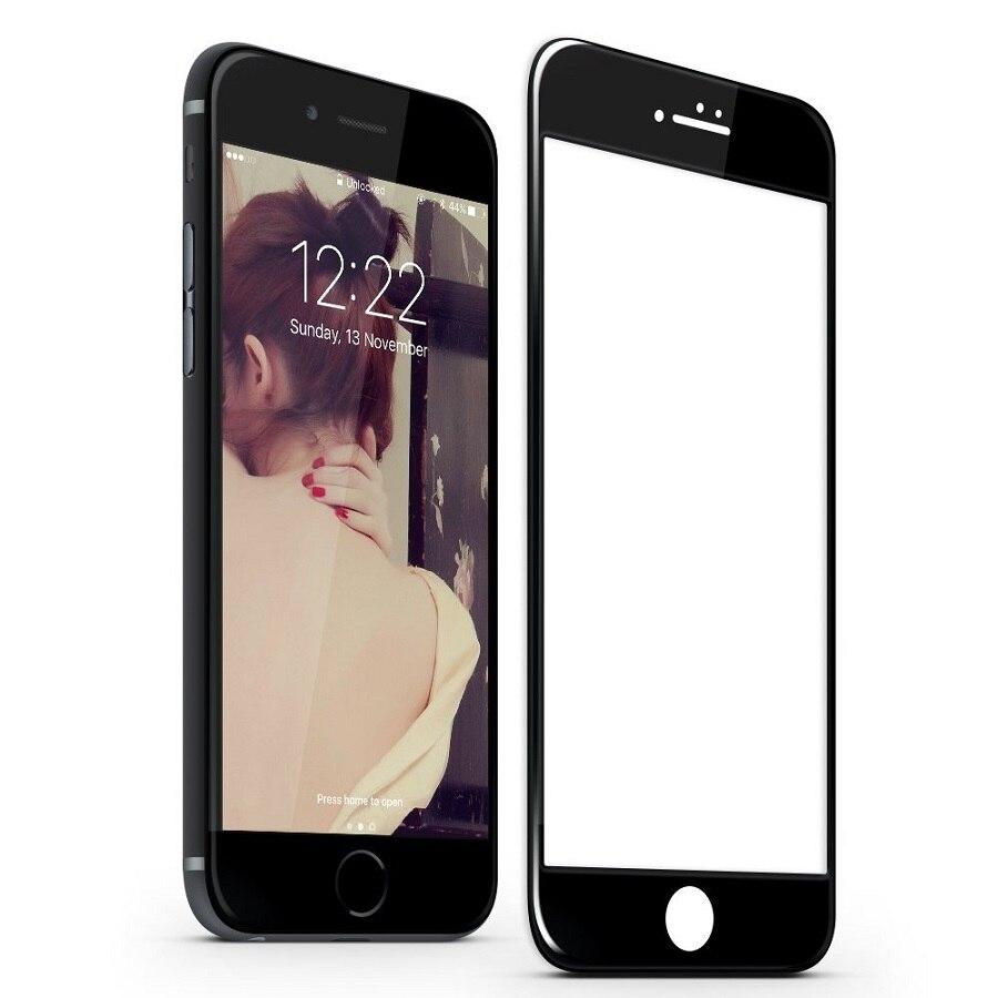 G D SMITH 3D Borde de vidrio templado Protector de pantalla para iPhone 7 8 Plus de la cubierta completa de protección de vidrio para Apple iPhone8 8 plus