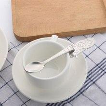 Ложка из нержавеющей стали висячая Русалка с длинной ручкой кофейная ложка чайная ложка столовые приборы