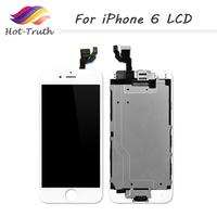 Hot Truth 10PCS LOT Factory Big Promotion For IPhone 6 6G LCD Touch Screen Digitizer Assembly