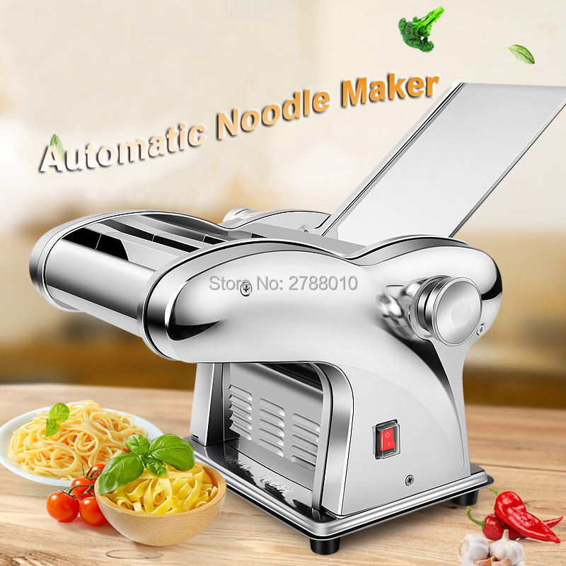 Household Electric Noodle Maker Automatic Noodle Machine Pasta Machine Multifunctional Noodle Press JCD-1O jiqi household hand noddles pasta maker machine stainless steel manual noodle press making noodle cutting machine 0 5mm 2 5mm