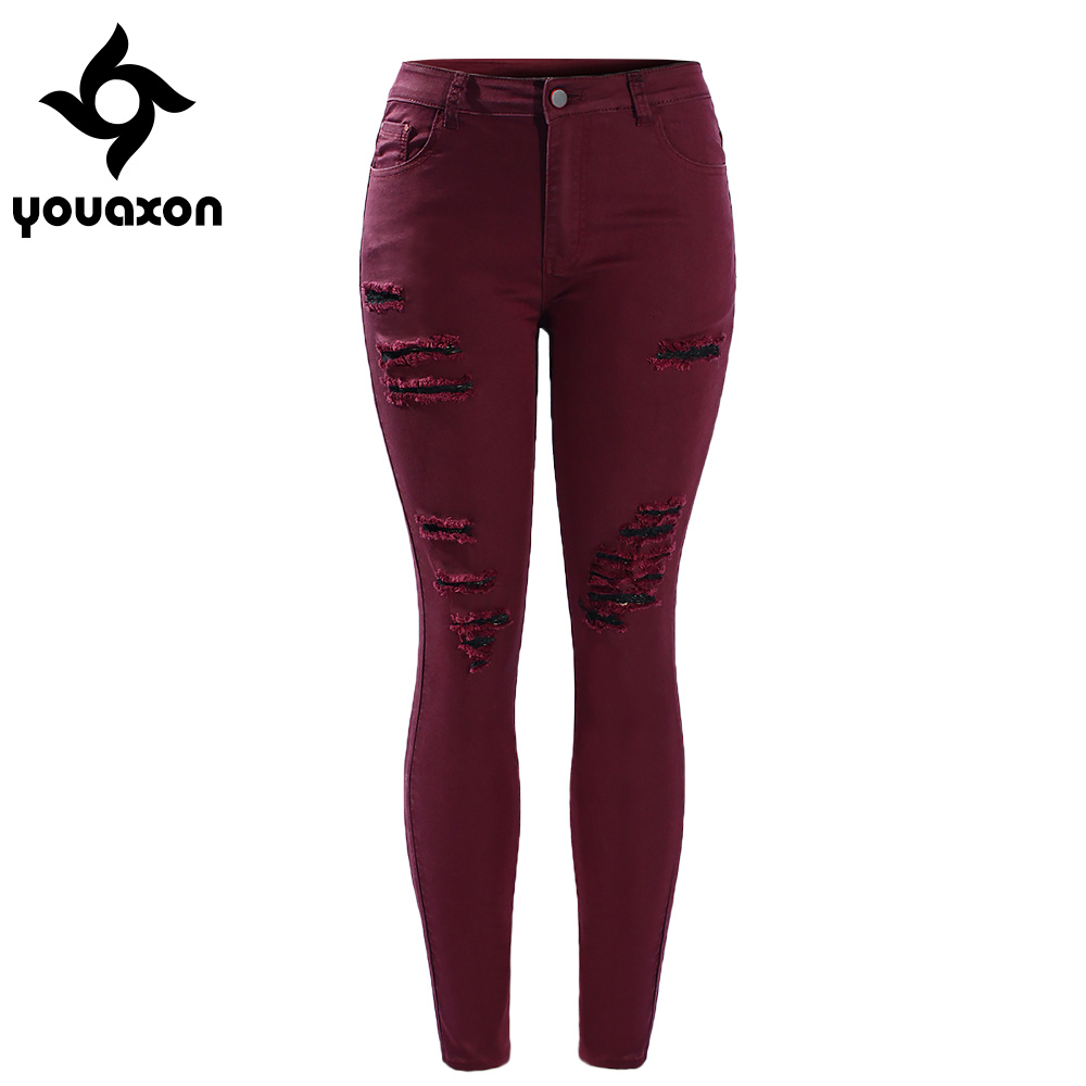 Online Get Cheap Burgundy Skinny Jeans -Aliexpress.com | Alibaba Group