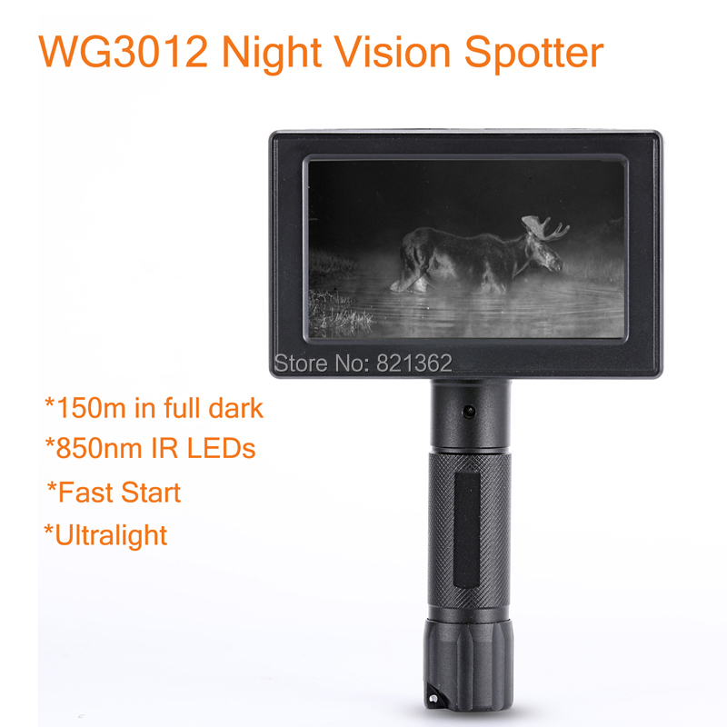 WILDGAMEPLUS WG3012 Wild Game Cameras 1.2 Flux Lens IR NV Hunting Spotter as Night Hunting Product wild game cookery 3e rev