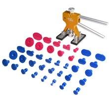 PDR Инструменты Paintless Дент Дент Удаление Repair Tool Dent Lifter Дент Puller Tabs Присоски Присоски Tookkit