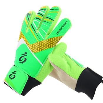 Kid's soccer goalkeeper gloves guantes de portero for children 5-16 years old soft goalkeeper gloves children riding scooters sp 8