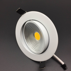 Image 3 - Angle Adjustable LED Dimmable Led downlight lighting COB 5w 7w 9w 12w Spot light 85 265V ceiling recessed Lights Indoor Lighting