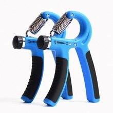 2Pcs Adjustable Hand Expander Fitness Grip Exerciser 60KG Hand Trainer Arm Trainer Power Grip Strength Handgripper Strengthener