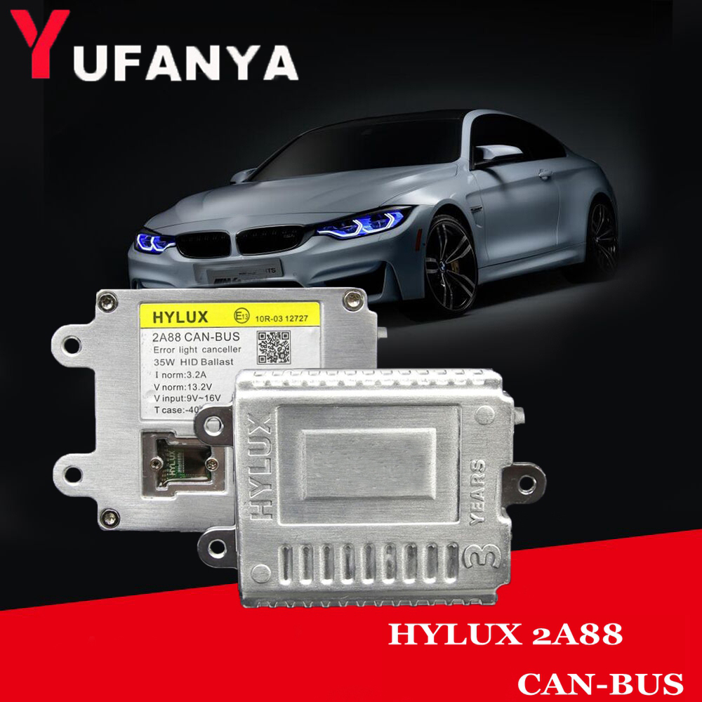 HID Xenon Kit canbus ballast for Hylux 2A88 Canbus Ballast fit for H1 H3 H7 H11 9005 9006 9012 D2H xenon bulb car light kit dlt x3t canbus 35w digital hid ballast cnlight xenon straight bulb h1 h3 h7 h9 h11 9005 9006