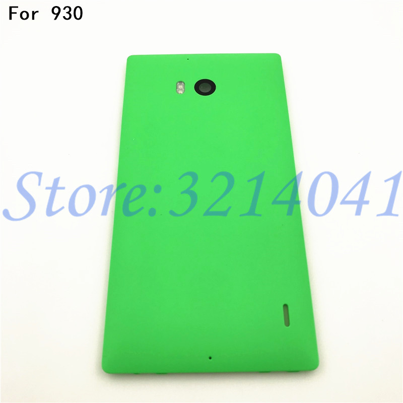 Battery cover For Nokia 930 Back Cover battery Housing Door Case For Nokia Microsoft Lumia 930 Repair parts (No NFC)+Logo