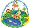 Marco de la aptitud bebé gateando manta de bebé de la música del juego alfombra manta niños suben juguetes game pad