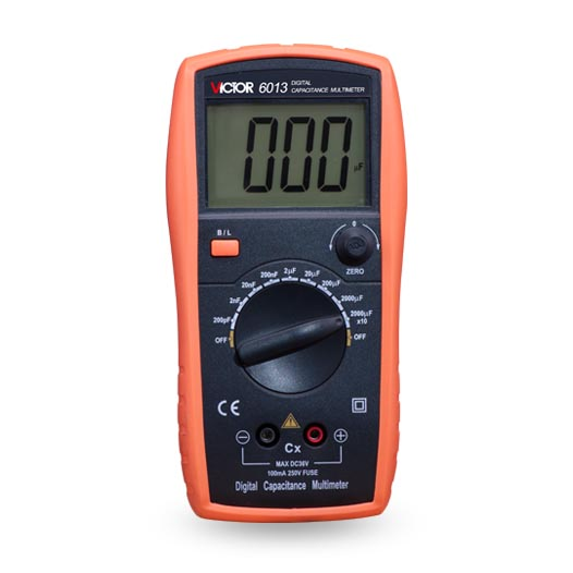 VICTOR 6013 VC6013 3 1/2 Digital LCR Meter Capacitance Meter Tester diagnostic-tool