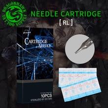 цена на Top 20 PCS Sterile Tattoo Round Liner Cartridge Needles For Tattoo Pen Machine Grip Supplies