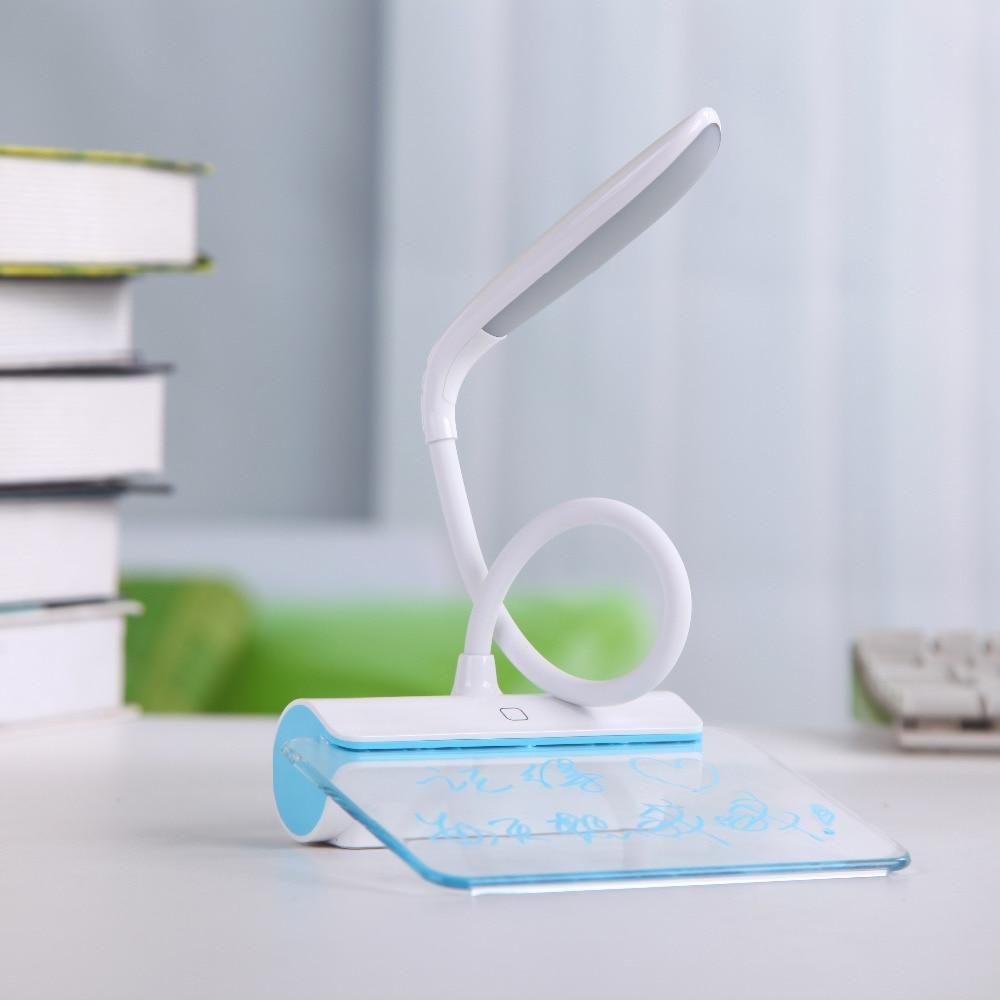 Mesaj lövhəsi ilə USB ilə doldurulan masa lampası, portativ üç - Daxili işıqlandırma - Fotoqrafiya 4