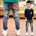 spring and autumn Casual children's, boys jeans denim long pants ,kids ripped jeans+kids jeans+boys jeans+boys ripped jeans