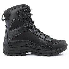 Botas de La Selva de los hombres Zapatos Para Caminar Botas de Combate Táctico Al Aire Libre Del Ejército Militar de Postre Botas EUR tamaño 39-45