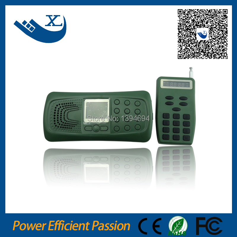 ФОТО Remote control electronic 10w 110 sounds mp3 bird caller hunting 2014