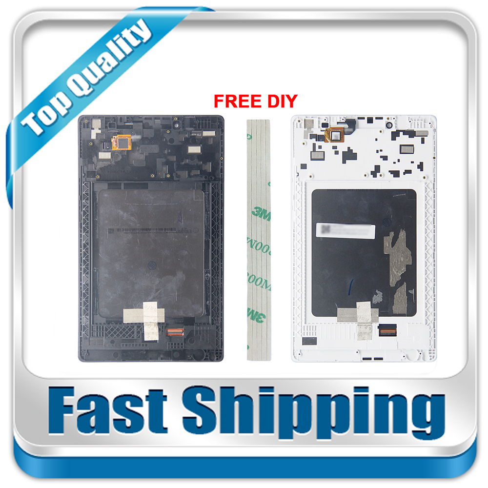 New For Lenovo Tab3 Tab 3 8 850 TB3-850 TB3-850F TB3-850M Replacement LCD Display Touch Screen+Frame Assembly Black White
