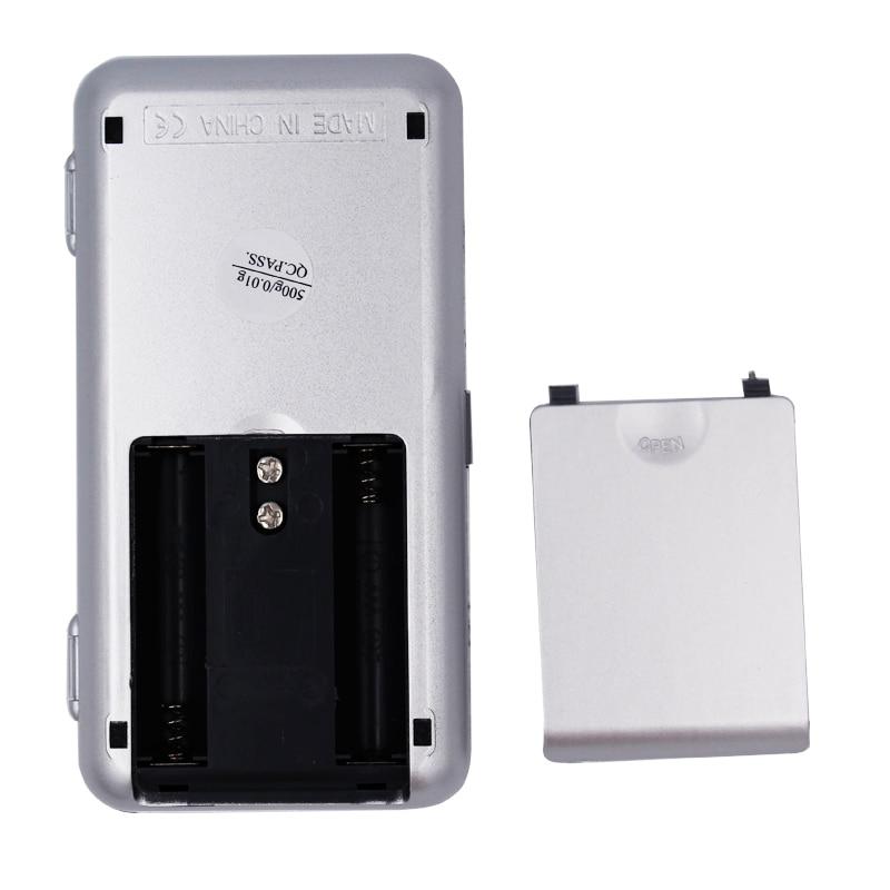 0,01 g 500 g mini elektroninis skaitmeninis balansinis skystųjų - Matavimo prietaisai - Nuotrauka 5