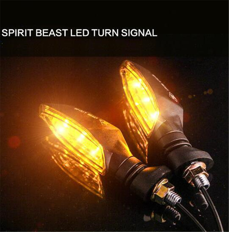 SPIRIT BEAST Motorcycle Signal Lights Modified Lights Waterproof Turn Lights LED Direction Lights Decorative Super Bright microfiber metal capacitive stylus pen for smartphone smart mobile phone tablet pc laptop capacitive touch screen devices