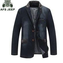 Männer clothing m ~ 4xl mode retro denim jacken mens patchwork mäntel asien größe freizeitjacken marke kleidung jaqueta masculina