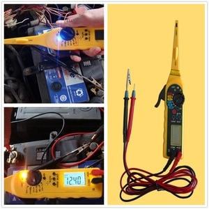 Image 4 - Lancol רכב רכב חשמלי מודד תיקון כלים עם דיגיטלי multi פונקציה אוטומטית במעגל Tester מודד מנורת 4 ב 1
