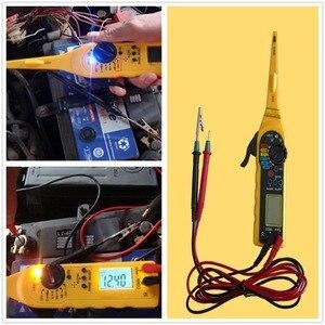 Image 4 - Lancol outils de réparation multimètre électrique automobile, outils de réparation avec numérique multifonctionnel testeur de Circuit automatique lampe multimètre 4 en 1
