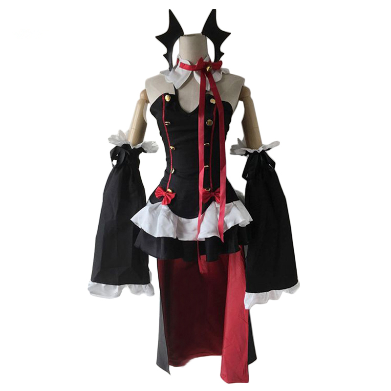 Anime Seraph Of The End Krul Tepes Full Set Halloween Party Dress Cosplay Costume Owari no