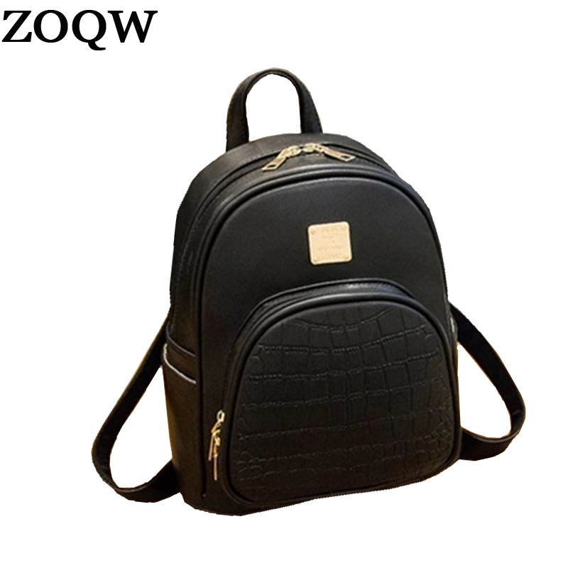 Women's Bags Luggage & Bags United Serpentine 4color School Bags For Teenagers Hottest Fashion New Arrival Leather Backpack Female Multifunction Wt0018