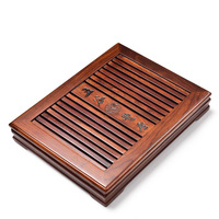 Boutique Chinese Kung Fu Tea Tray Home Office Coffee Table Decoration Gift Wood Tea Tray Tea Accessories Free Shipping
