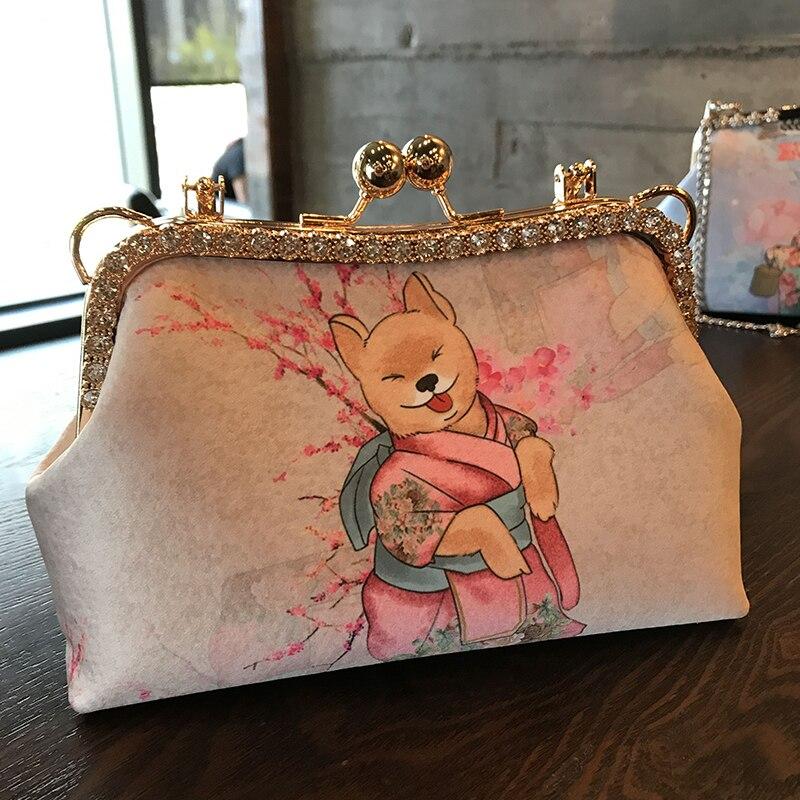 Professionnel fait à la main bricolage artisanat matériel paquet pour mode femmes sac à main (23x13x8 cm) métal-ouverture cadre sac cadeau