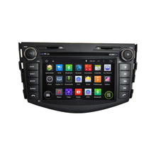 1024*600 Quad Core Android 5.1Fit TOYOTA Rav4 2001 – 2006 2007 2008 2009 2010 – 2015 Car DVD Player Navigation GPS  Radio