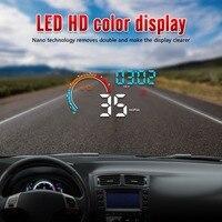 Universal Car HUB OBD2 / GPS Head Up Display Auto Speed Projector Vehicle Windshield Navigation OBD Speedometer Hud d2500